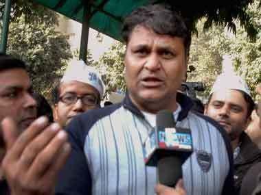 Vinod Kumar Binny Former AAP MLA Vinod Kumar Binny joins BJP
