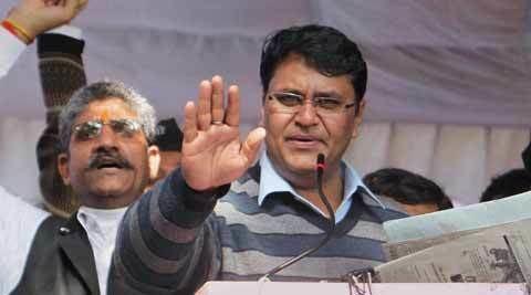 Vinod Kumar Binny Vinod Kumar Binny pulls a fast one AAP leader ends hunger strike