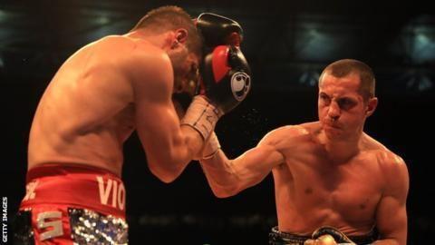 Viorel Simion Scott Quigg British fighter beats Viorel Simion at Wembley BBC Sport
