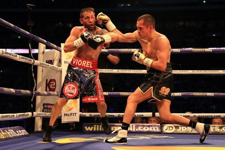 Viorel Simion Scott Quigg comes out the right end of strenuous slugfest against