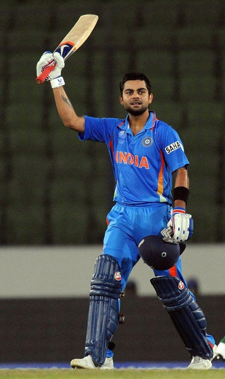 Virat Kohli (Cricketer) playing cricket