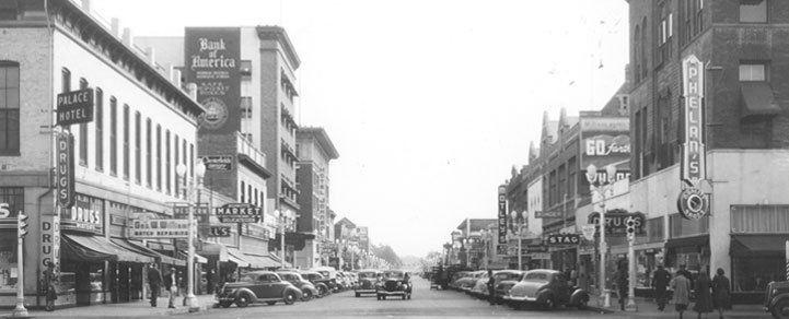 Visalia, California in the past, History of Visalia, California