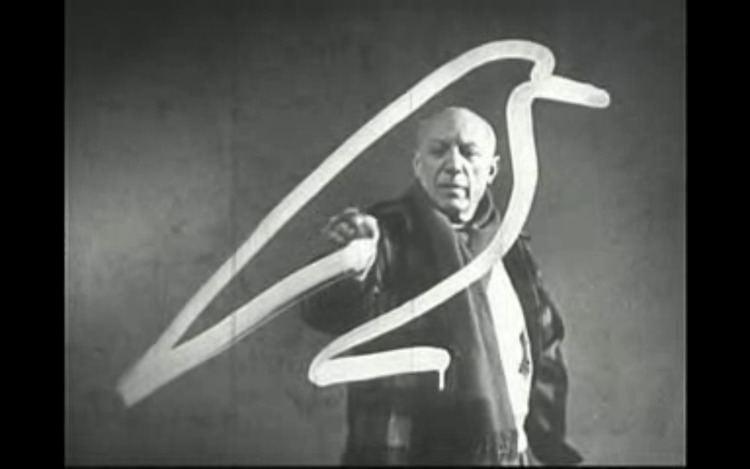 Visit to Picasso Visite Picasso Visit to Picasso 1950 dir the long goodbye