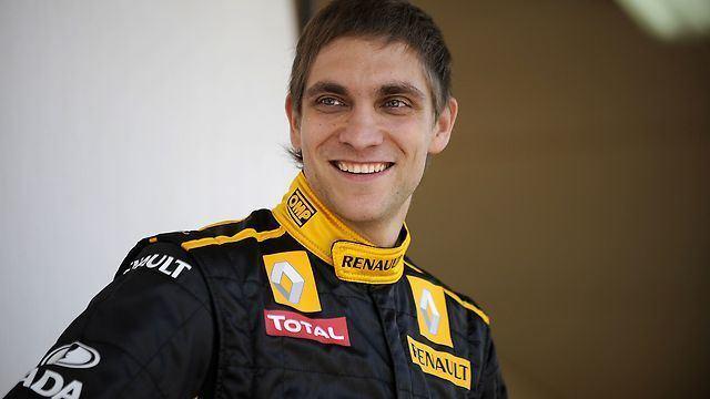 Vitaly Petrov F1 team Lotus Renault confirm Vitaly Petrov as second