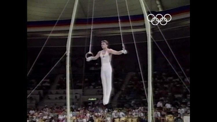 Vladimir Artemov Vladimir Artemov39s Gymnastic Dominance Seoul 1988