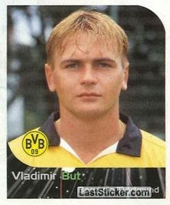 Vladimir But Sticker 104 Vladimir But Panini German Football Bundesliga 1999