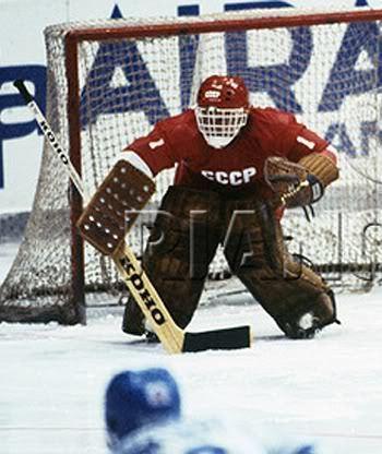 Vladimir Myshkin Third String Goalie 1981 Soviet Union National Team