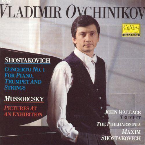 Vladimir Ovchinnikov (pianist) Shostakovich Piano Concerto No 1 Mussorgsky Pictures at an