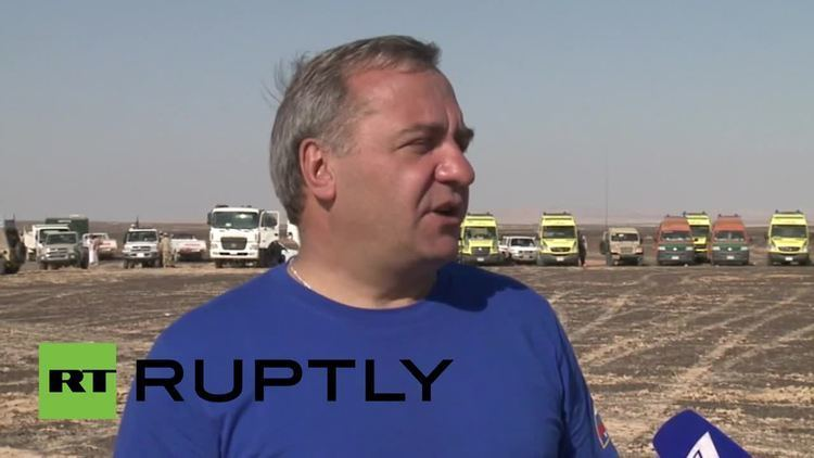 Vladimir Puchkov Egypt Search and rescue operations ongoing EMERCOM39s