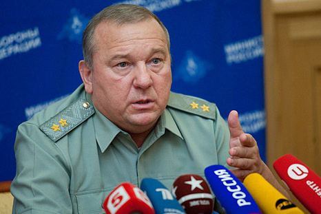 Vladimir Shamanov 12 October 2013 rusmilitary