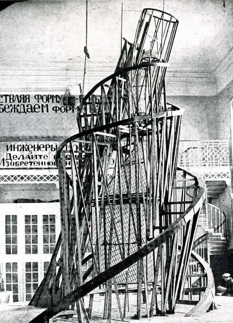 Vladimir Tatlin Vladimir Tatlin Constructivism photograph 1920