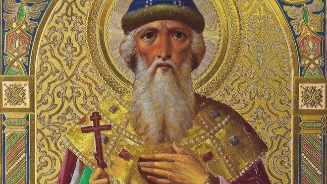 Vladimir the Great Medieval Prince Vladimir deepens RussiaUkraine split BBC News