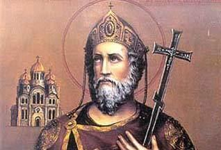 Vladimir the Great Vladimir the Great Grand Prince of Kievan Rus under whom Russia