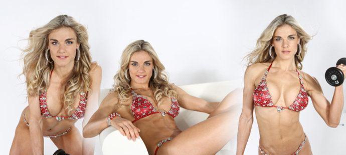 Vladimíra Krásová Vladimra Krsov chce fitness titul Bikini I kulturistka je sexy