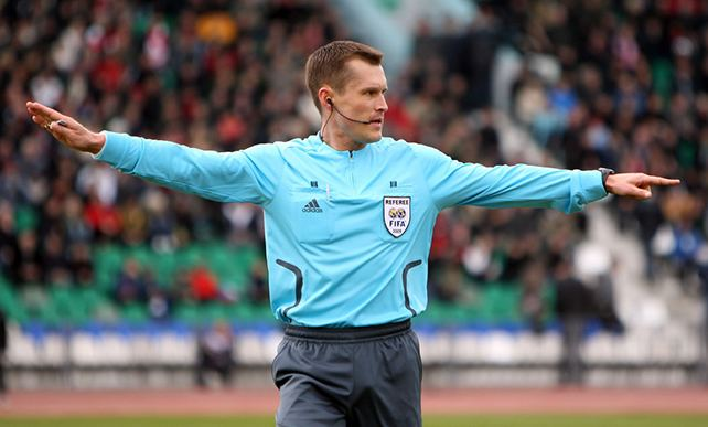 Vladislav Bezborodov Bezborodov to referee Krasnodar Anji