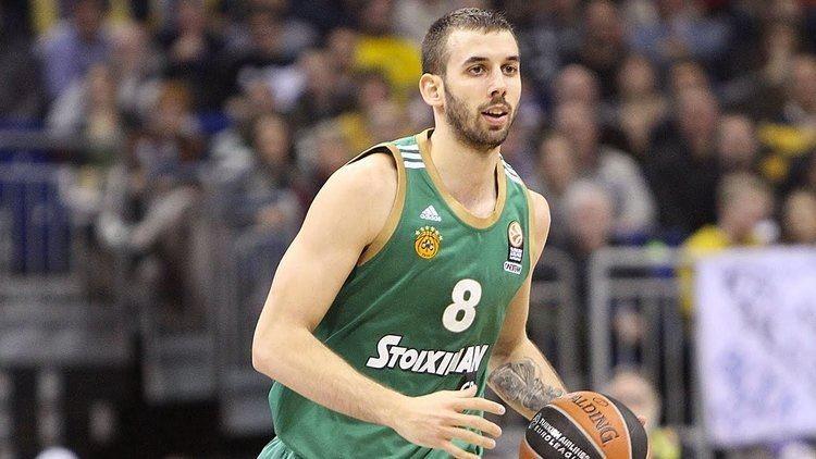 Vlado Janković (basketball) Assist of the Night Vladimir Giankovits Panathinaikos Athens YouTube