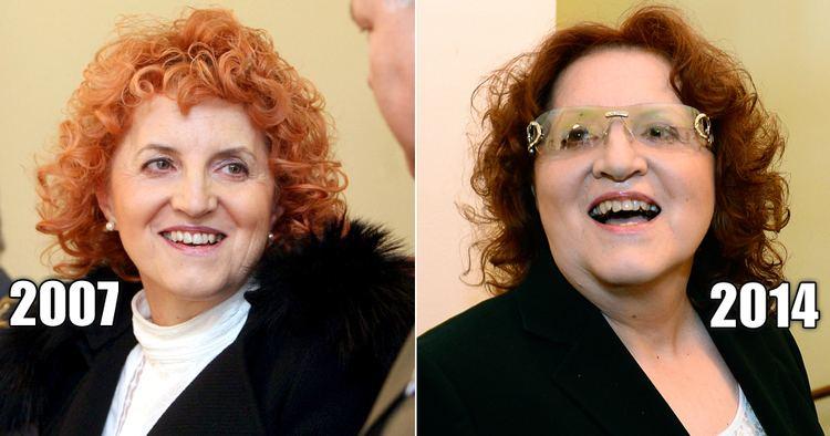 Vlasta Parkanová Dchodkyn Parkanov opt na veejnosti Vyrazila k soudu kvli