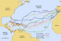 Voyages of Christopher Columbus httpsuploadwikimediaorgwikipediacommonsthu