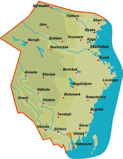 Västerbotten Province Vsterbotten