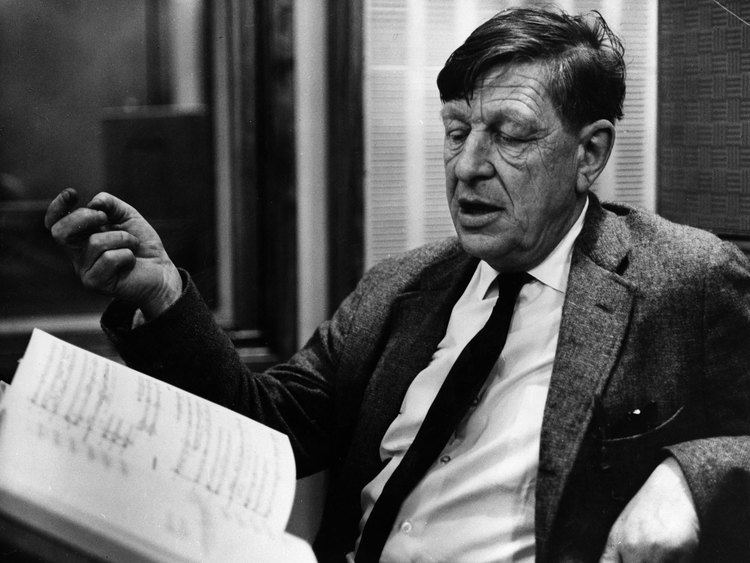 W. H. Auden Lost39 WH Auden journal sheds light on pivotal time for