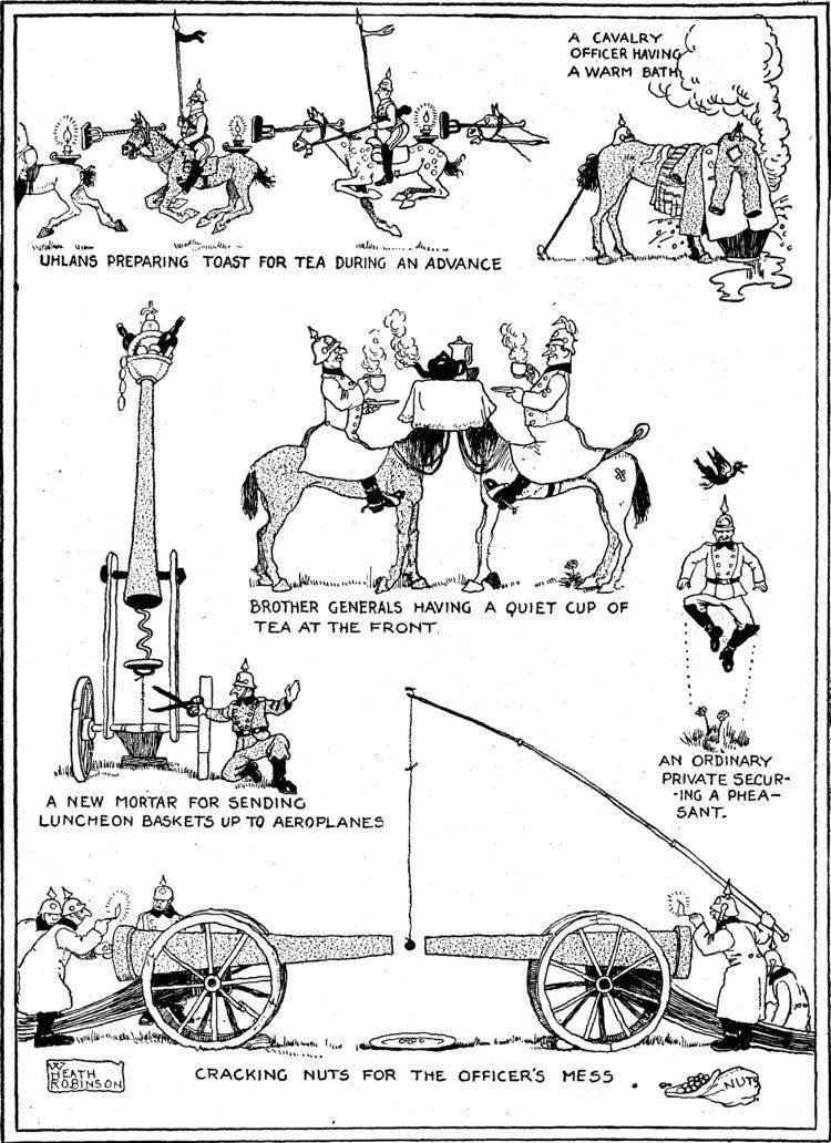 W. Heath Robinson W Heath Robinson Wikipedia the free encyclopedia
