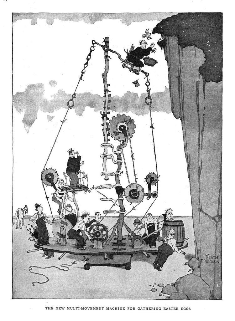 W. Heath Robinson Rube Goldberg Heath Robinson and the history of