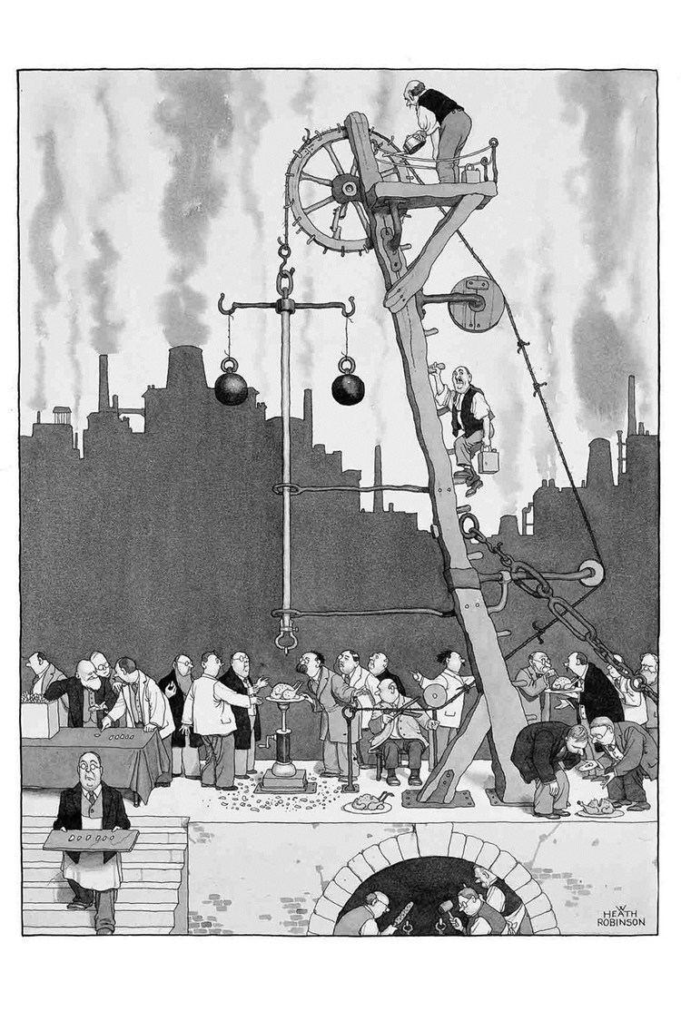 W. Heath Robinson Heath Robinson the unsung hero of British eccentricity