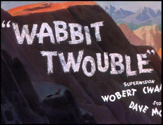 Merrie Melodies Wabbit Twouble B99TV