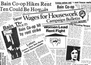 Wages for housework Bain Coop Meets Wages for Housework A Political Thriller