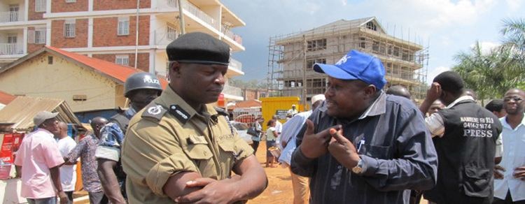 Wakiso District Wakiso LC5 Boss Detained as Bullets Teargas Rock Entebbe Red