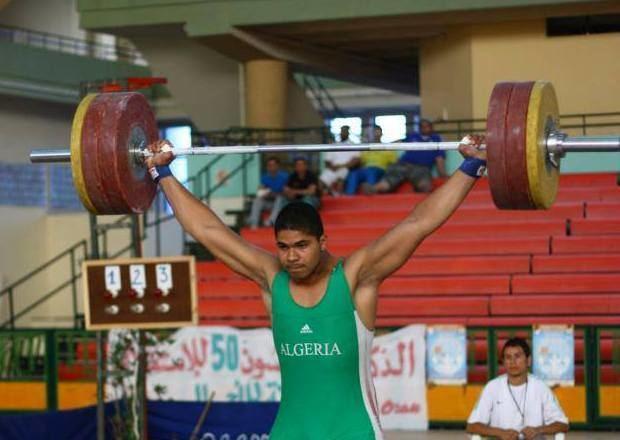 Walid Bidani Haltrophilie Walid Bidani rcupre le titre de championnat du