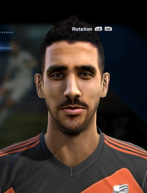 Walid Mesloub Mesloub Walid face for Pro Evolution Soccer PES 2013 made