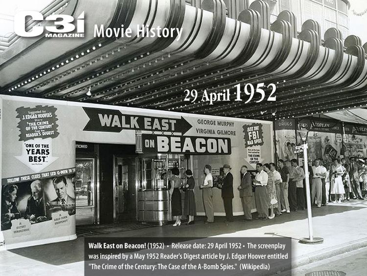 Walk East on Beacon Movie History 1952 Release C3i Ops Center