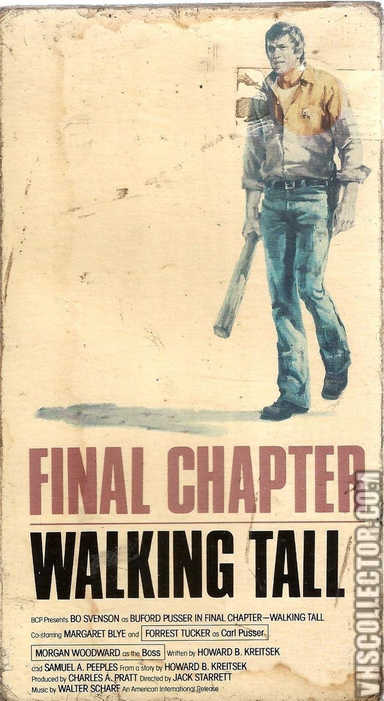 Walking Tall: Final Chapter Final Chapter Walking Tall VHSCollectorcom Your Analog