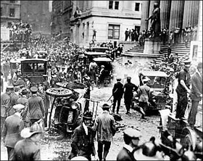 Wall Street bombing FBI A Byte Out of History Wall Street Bombing