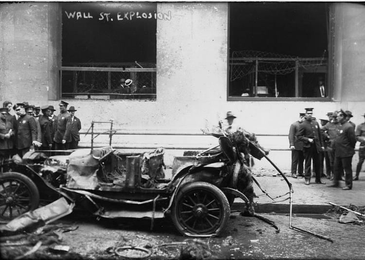 Wall Street bombing The 1920 Wall St bombing A terrorist attack on New York