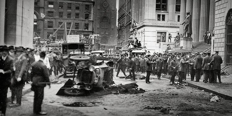 Wall Street bombing Unsolved Wall Street Terror Attack Business Insider