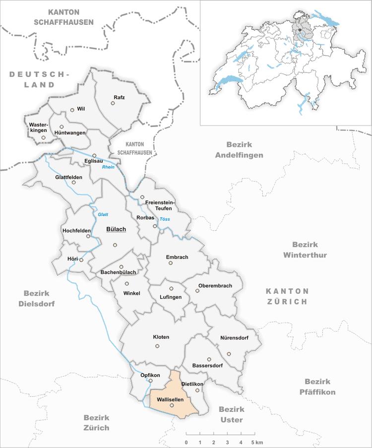 Wallisellen in the past, History of Wallisellen