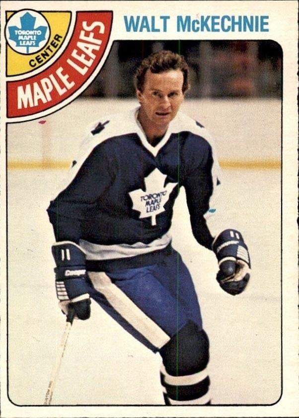 Walt McKechnie Walt McKechnie Well Traveled In The National Hockey League