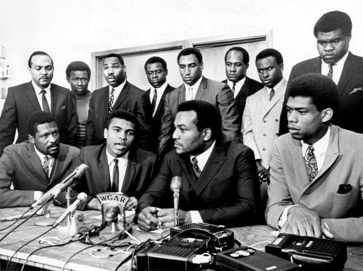Walter Beach ExBrown Walter Beach Recalls Black Athletes Support of Ali The
