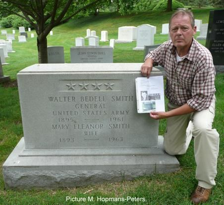 Walter Bedell Smith Smith Walter Bedell Beetle WW2 Gravestone