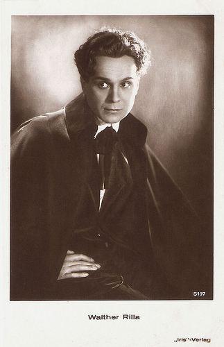 Walter Rilla European Film Star Postcards Walter Rilla