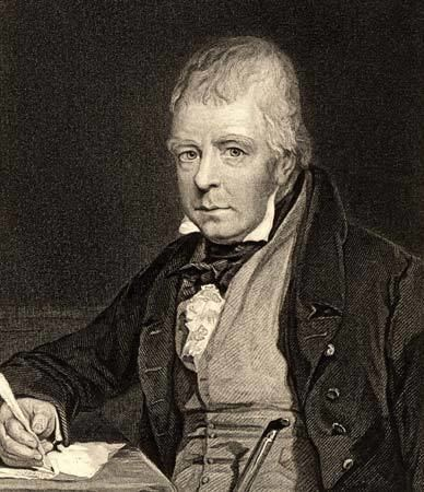 Walter Scott Sir Walter Scott 1st Baronet Scottish writer
