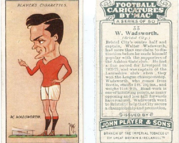 Walter Wadsworth Walter Wadsworth PlayUpLiverpoolcom Play Up Liverpool FC