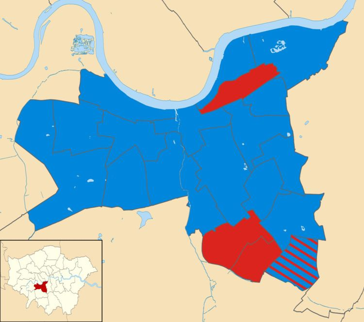 Wandsworth Council election, 2002