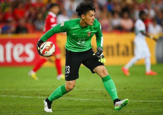 Wang Dalei Baby joy has China goalie Wang in wonderland Daily Mail