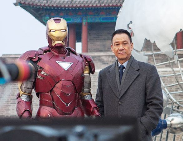 Wang Xueqi Wang Xueqi shows his mettle in Iron Man 3 Movies