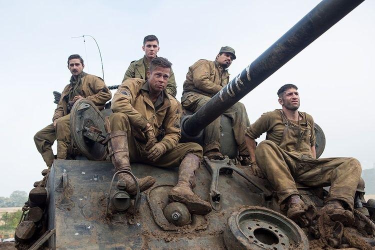 War movie scenes Best War Movie Fury
