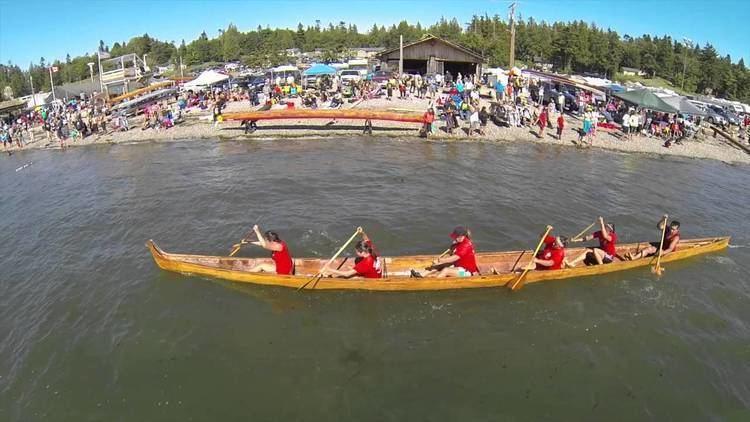 War canoe War Canoe Saturday at Stommish YouTube