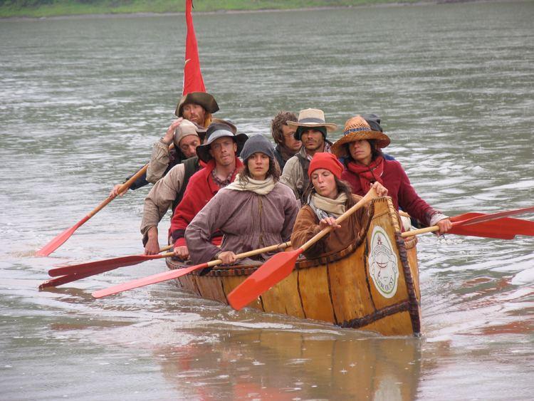 War canoe Birch Bark War and Fur Trade Canoes